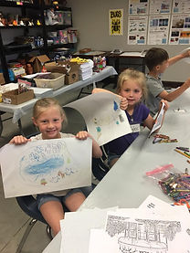 Graceful Arts Art Camp 2019