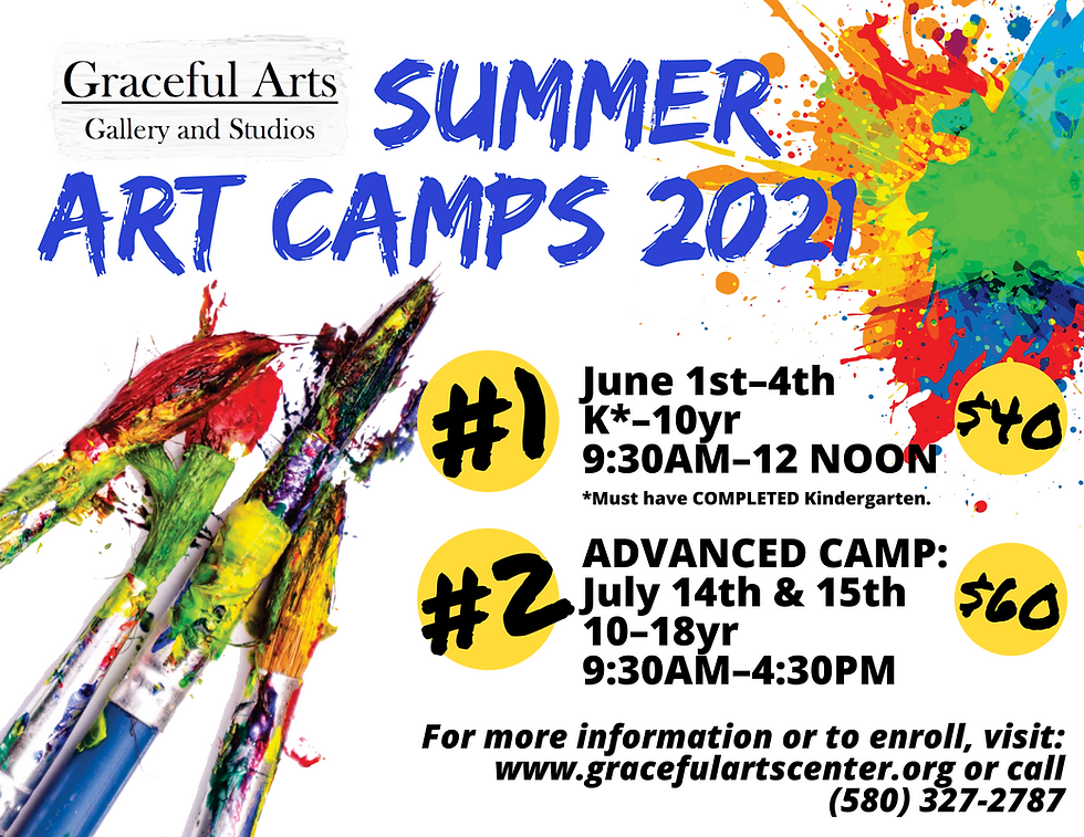 Graceful Arts Art Camp 2021