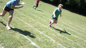 Sports Day- Blue Team Win