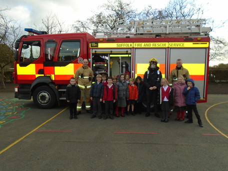 Fire Engine visit!