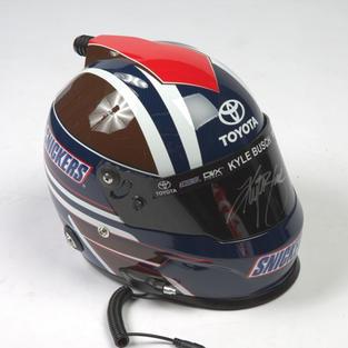 Autographed Kyle Busch Helmet