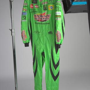 Autographed Kyle Busch Fire Suit