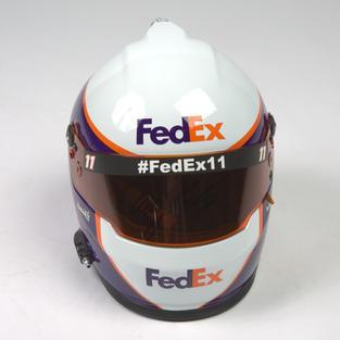 Autographed Denny Hamlin Helmet
