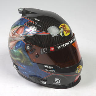 Autographed Martin Truex Helmet