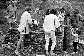 LSD-community-enjoys-communal-dinner - C