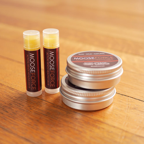 Lotion Bars + Lip Balms - 4 Pack