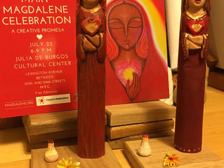 Magdalene Carvings by Marta and Bárbara