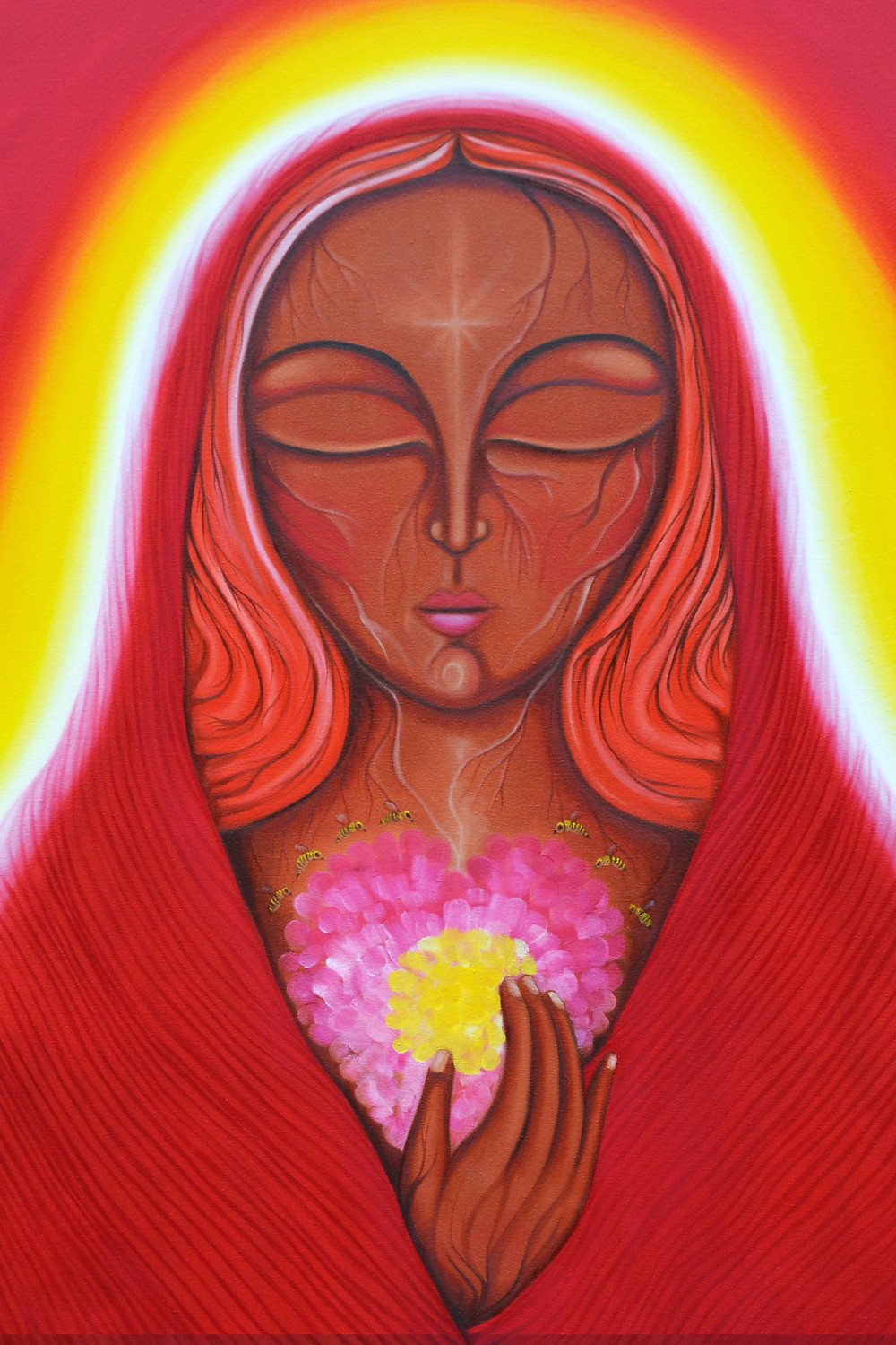 Mary Magdalene of the Bees by Tanya Torres, 2016.