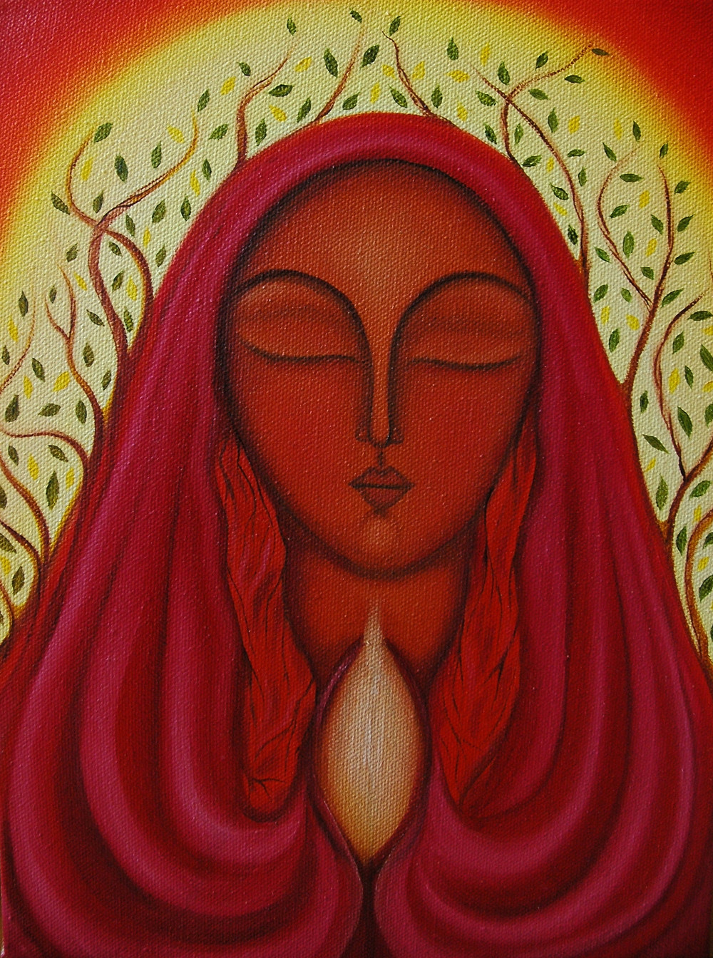 Mary Magdalene of Growth by Tanya Torres