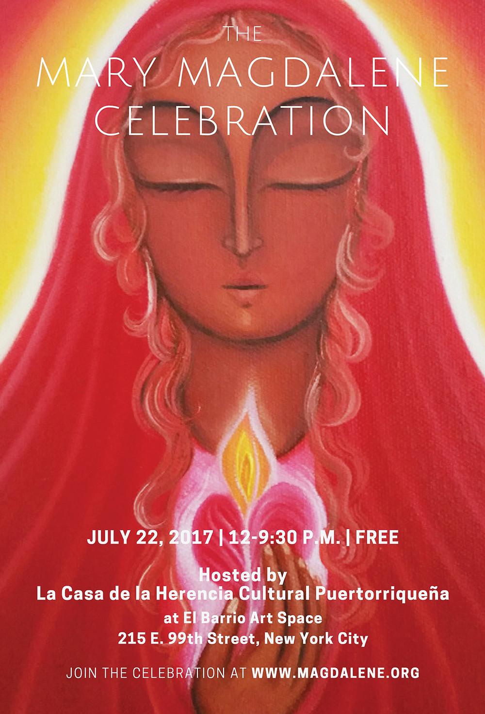 Mary Magdalene Celebration Poster