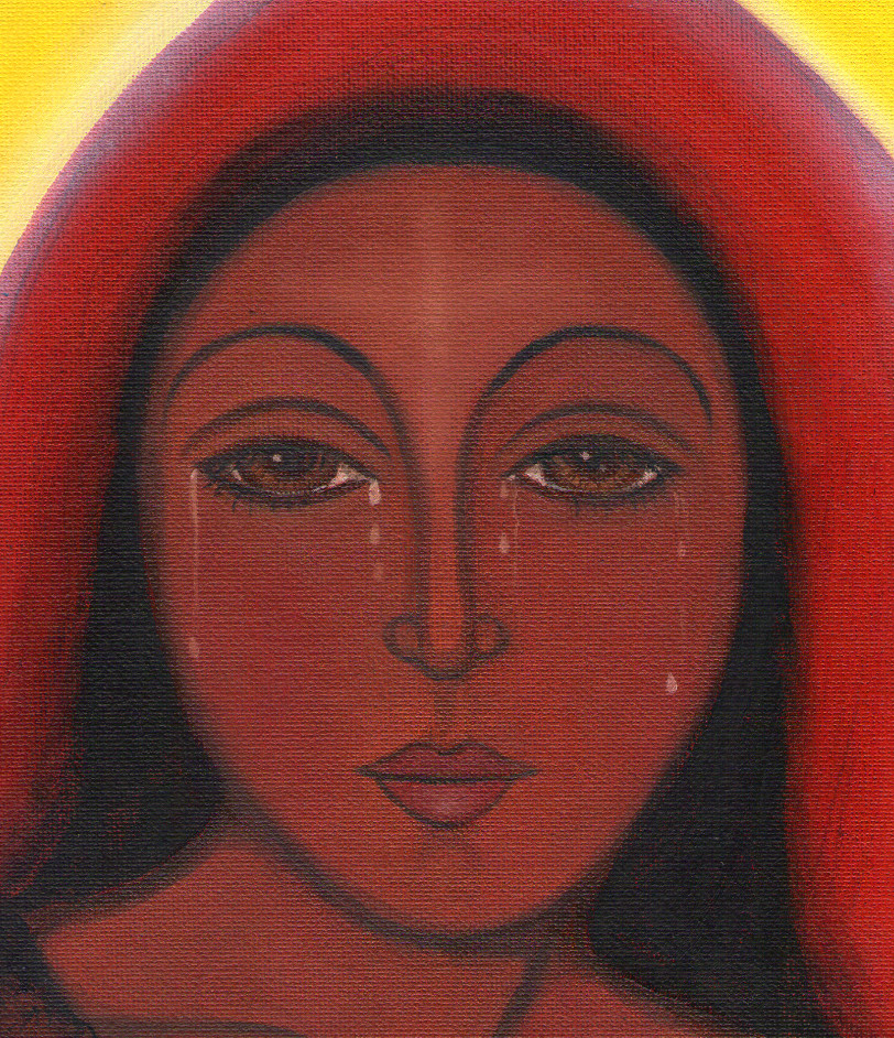 Mary Magdalene of the Tears by Tanya Torres