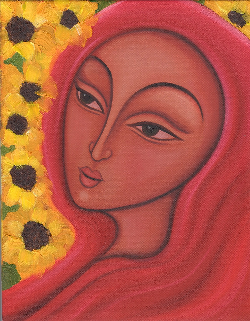Mary Magdalene of the Seven Sunflowers