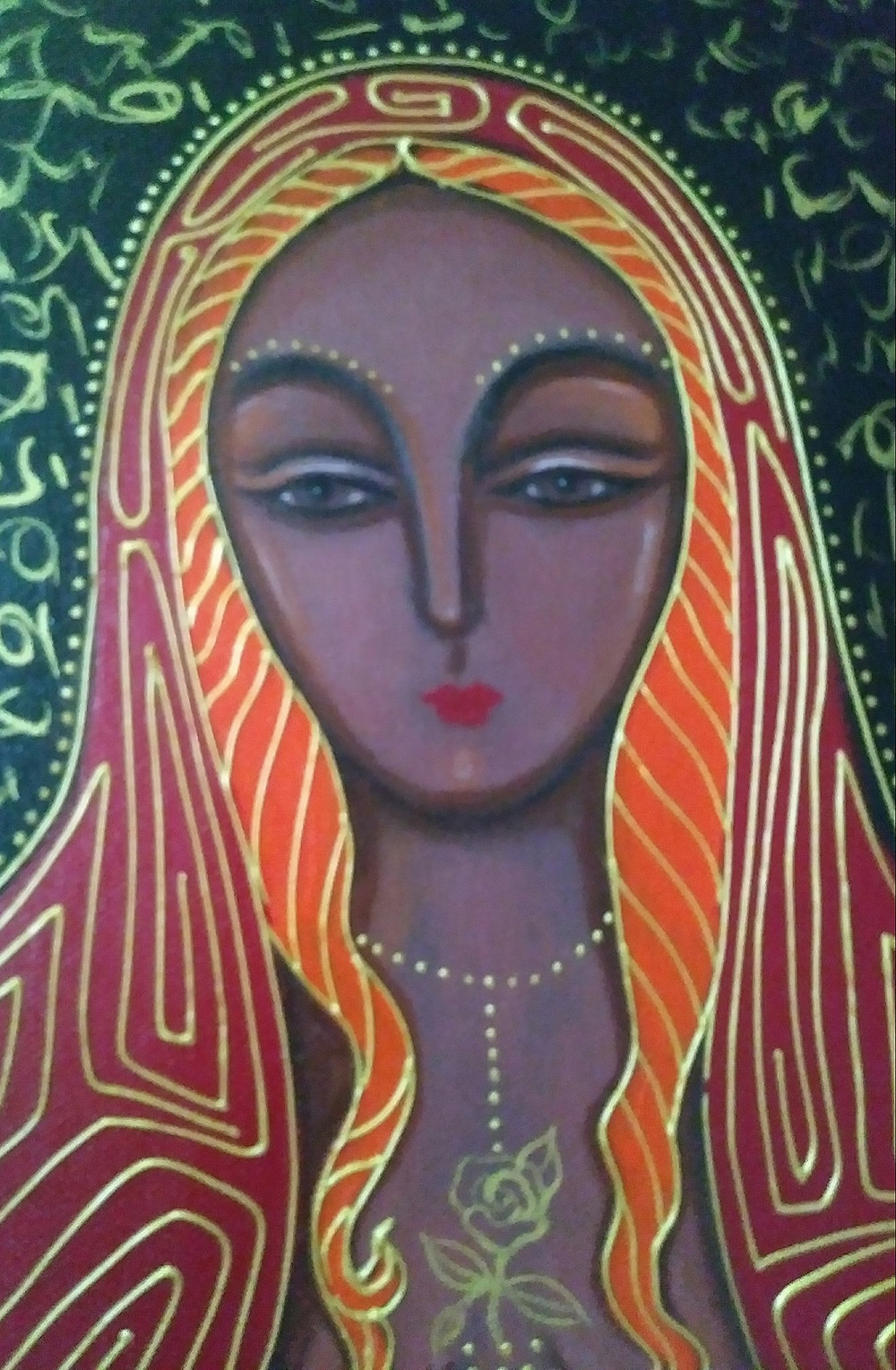 Mary Magdalene, Priestess of Isis by Tanya Torres