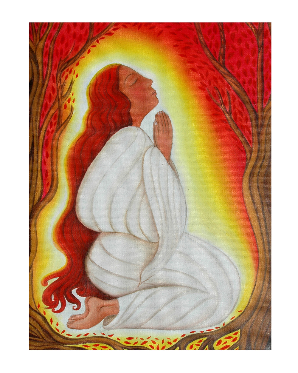 Mary Magdalene in Meditation by Tanya Torres, 2010