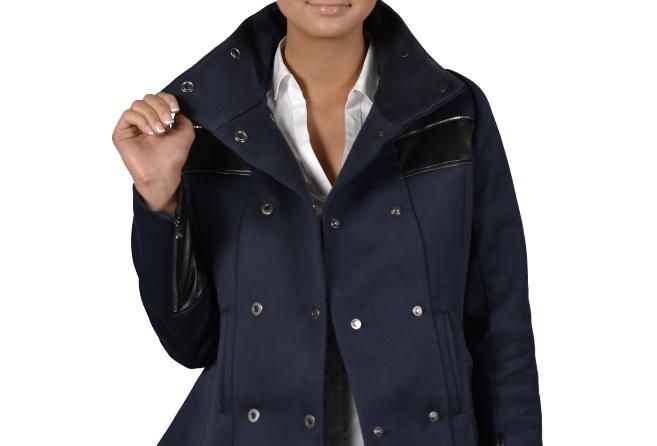 Vera (Double Breasted Peplum Jacket)