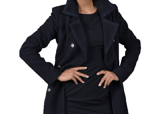 Alisa (Notch Classic Double Breasted Coat)