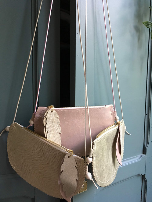 Léonie, le sac fillette en cuir