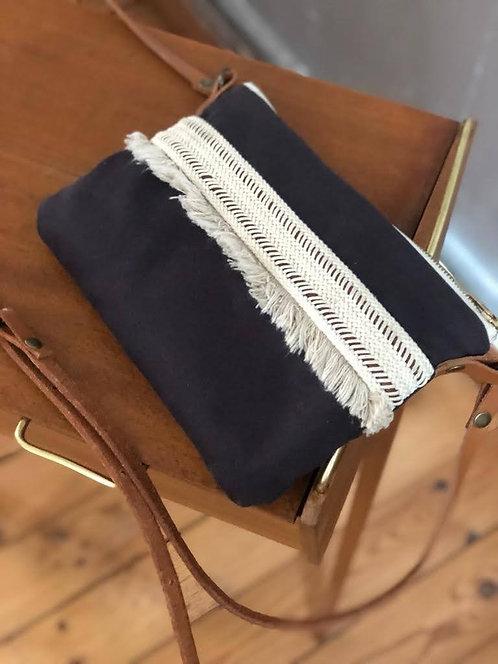 Thelma, le sac galon corde et cuir