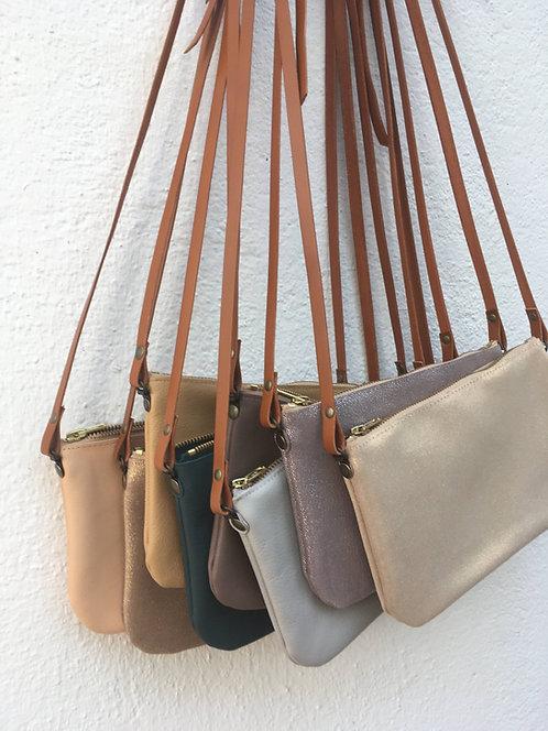 Suzanne, la pochette-sac en cuir