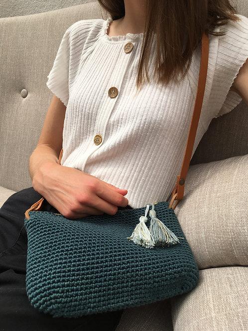 Anatole, la pochette-sac au crochet