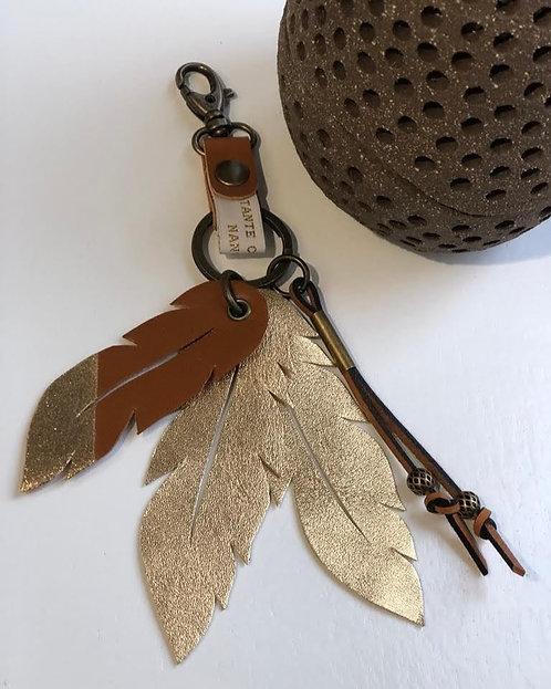 Jude, le porte-clefs aux plumes dorées