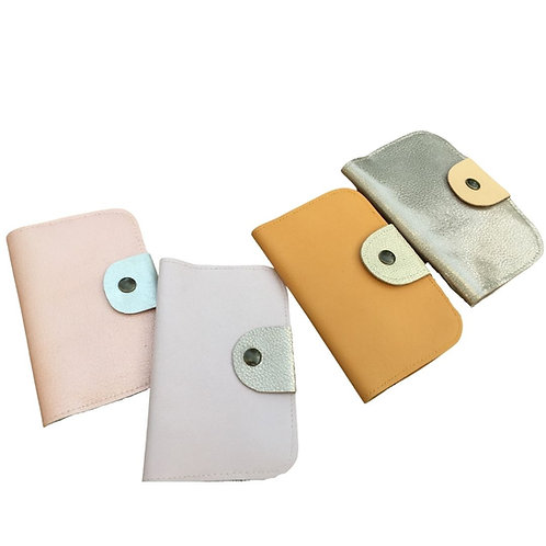 Gontran, le double porte-cartes en cuir