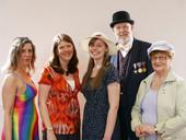 Isobel, Kate, Mabel, Major General and E