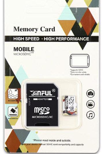 Binful micro SD-Karte Speicherkarte 32 GB
