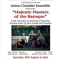 Arioso Chamber Ensemble - St Clement's 1