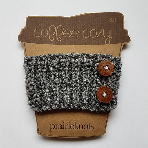 Coffee Cozy - Tree Button