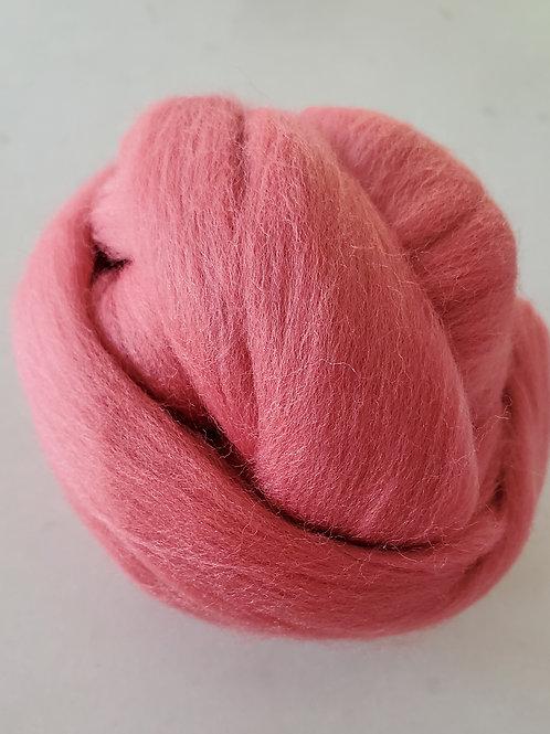 4oz Mulberry Merino Wool Roving