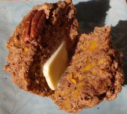 whole grain muffin