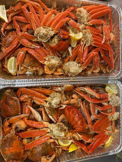 Create Your Own Seafood Boil Crab Lobste