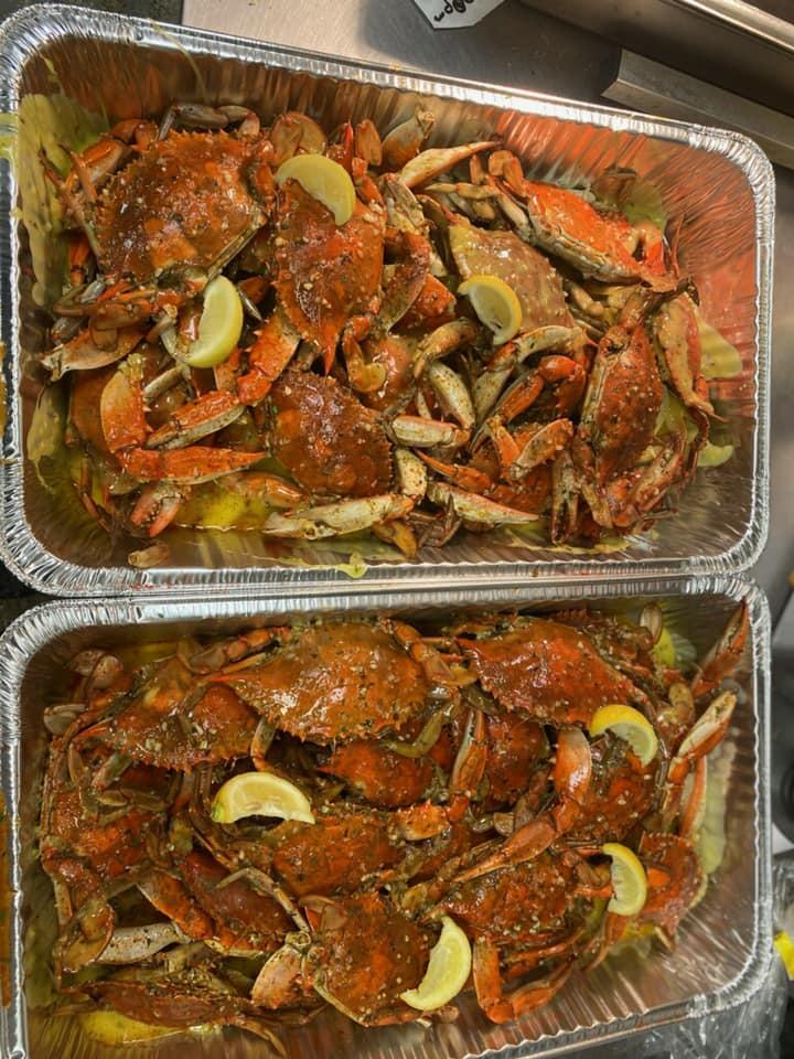 Garlic Blue Crabs
