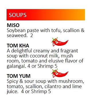 Sushi Thai Soups