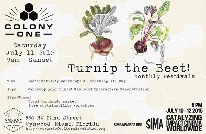 Colony1's Turnip the Beet! Market Festival in Wynwood
