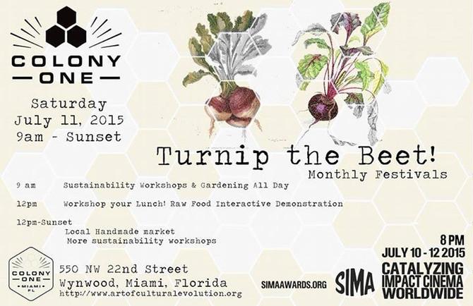 Colony1's Turnip the Beet! Market Festival in Wynwood