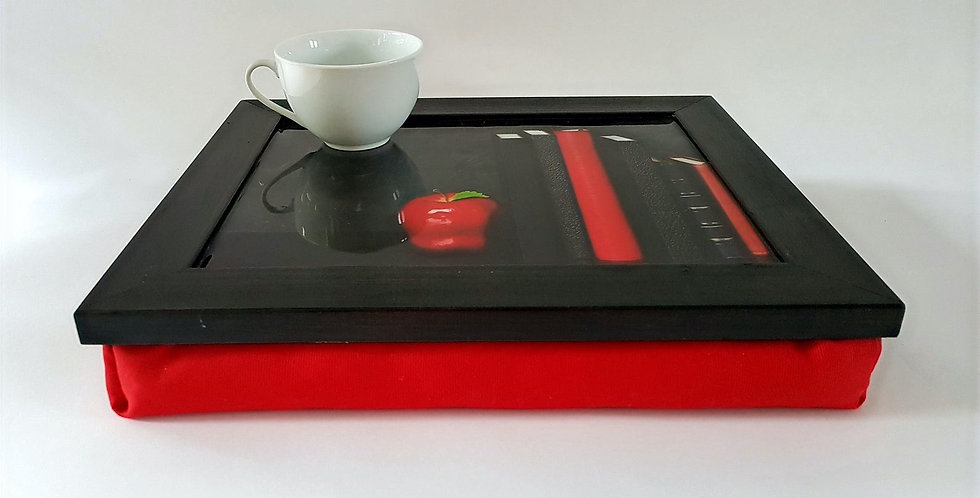 Lap desk Red Book