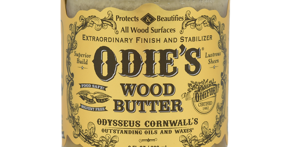 Odie's Oil Wood Butter - 9oz