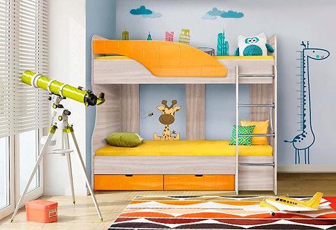 Детская кровать Бриз-5 Манго