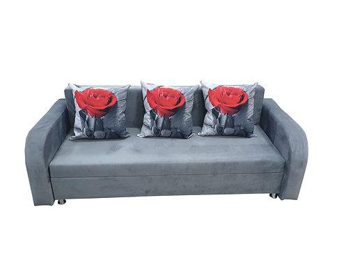 Серая роза с подлокотниками