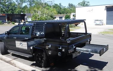 Custom aluminium ute tray