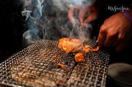 台北中山|胖肚肚燒肉|滿坑滿谷的燒肉塔,享受肉汁在嘴裡炸開的享受