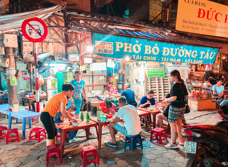 2020河內必吃小吃推薦!|street food|Banh Mi 25、Bun Cha、Pho 10