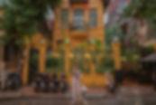 Home HanoiRestaurant |越南河內|走進古色古香的法式鵝黃建築,一嚐法越合併的美味饗宴