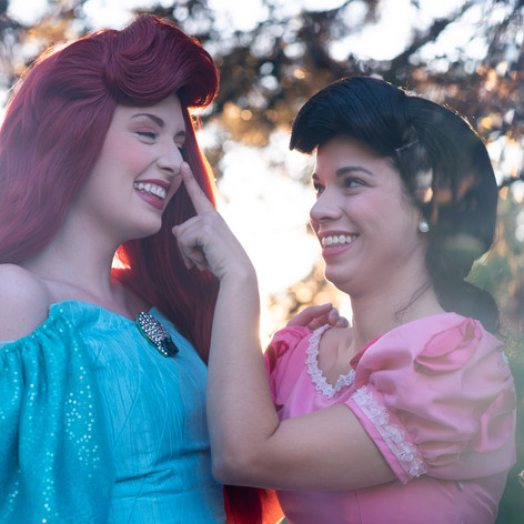 Ariel and Melody Characters