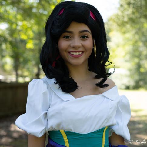 Esmeralda character rental