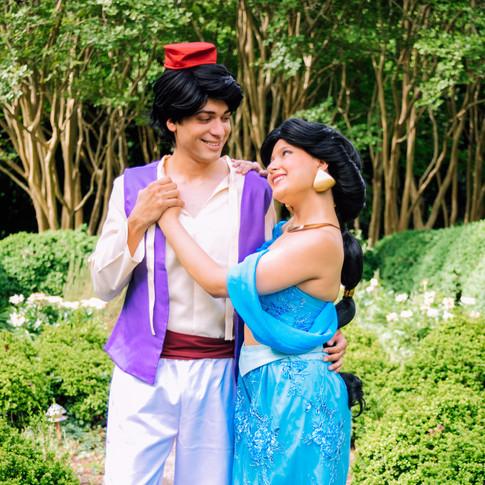 Aladdin and Jasmine for Hire