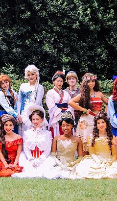 Anna, Elsa, Frozen Character, Mary Poppins, Elena of Avalor, Mulan, Kristoff, Moana, Belle, Beauty and the Beast