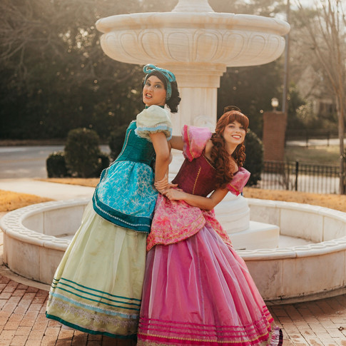 Ugly Stepsisters Cosplay